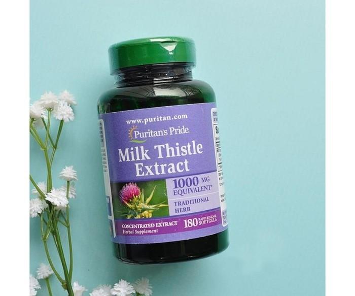 Milk Thistle Extract 1000 mg Puritan's Pride