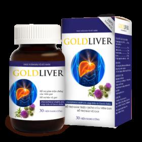 Viên uống GoldLiver được đánh giá cao trong việc hỗ trợ giải độc gan và hạ men gan hiệu quả