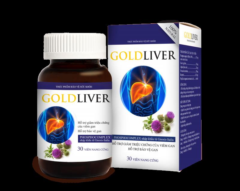 Thực phẩm chức năng gan Goldliver