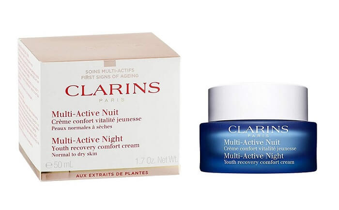 Kem dưỡng ẩm Clarins Multi-Active Night Youth Recovery Cream