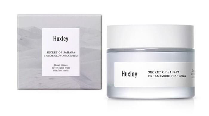 Kem dưỡng ẩm Huxley Cream More Than Moist – Chiết Xuất Xương Rồng