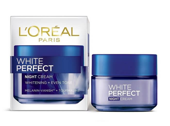 Kem dưỡng da ban đêm L'Oreal White Perfect
