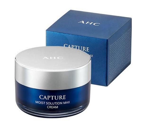 Kem dưỡng trắng AHC Capture Moist Solution Cream