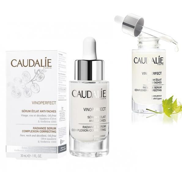Serum Caudalie Vinoperfect giúp làm mờ đốm nâu, tàn nhang