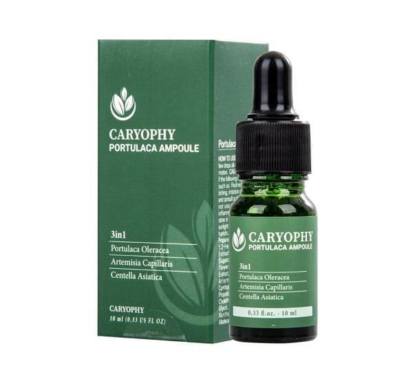 Serum trị mụn cho nam Caryophy Portulaca Ampoule