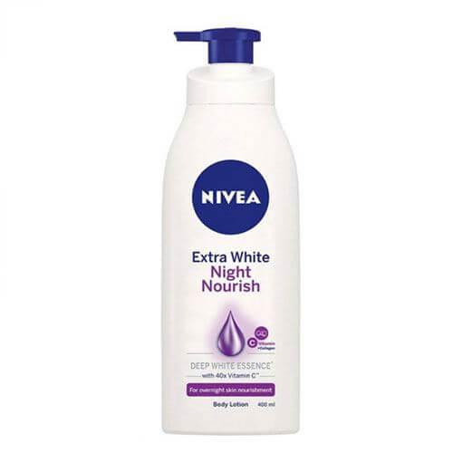 Sữa dưỡng trắng ban đêm Nivea Night White Firming Body Lotion