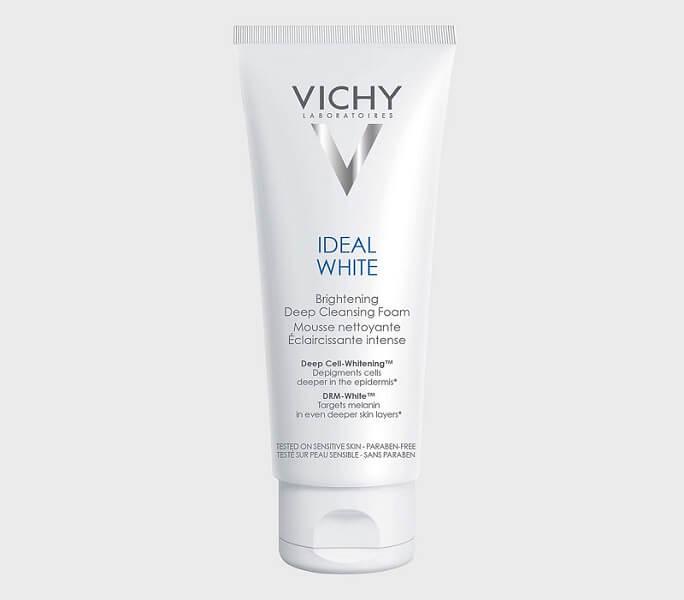 Vichy Ideal White Brightening Deep Cleansing Foam