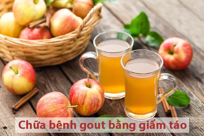 Các cách chữa bệnh gout bằng giấm táo tại nhà an toàn và hiệu quả
