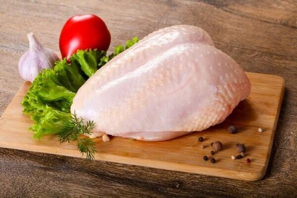 Các loại thịt trắng chứa ít hàm lượng purin
