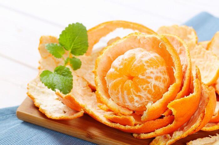 Vỏ cam cũng có thể sử dụng để trị nám sau sinh rất tốt