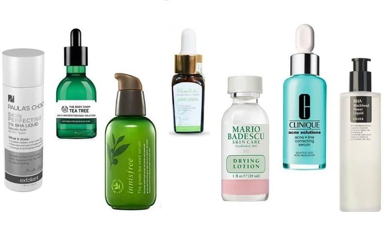 Có rất nhiều thương hiệu serum trị mụn ẩn và đầu đen nổi tiếng trên thị trường