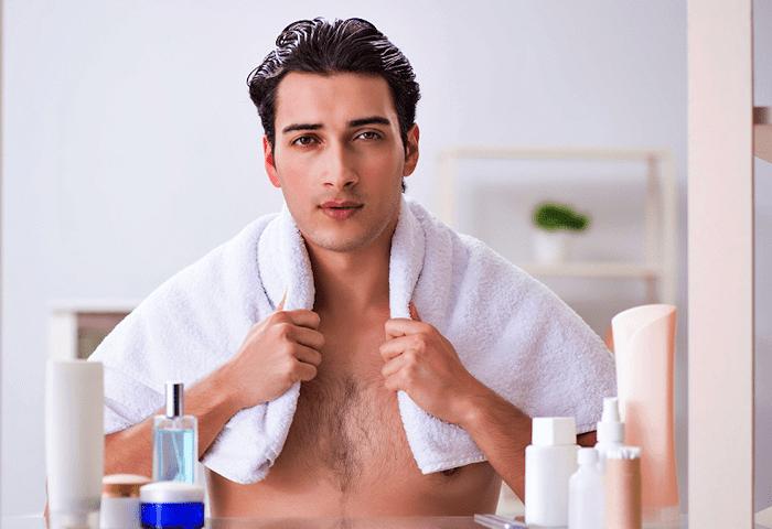 Đặc điểm làn da của nam giới