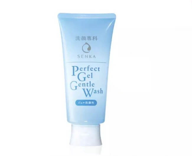 Gel rửa mặt dưỡng ẩm sáng da phù hợp với mọi loại da Senka Perfect Gel Gentle Wash