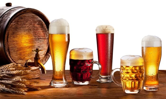 Hạn chế đồ uống có cồn như: rượu, bia
