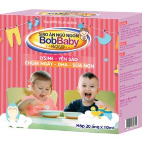 Hình ảnh sản phẩm Siro Ăn Ngủ Ngon BobBaby giúp bé ăn ngon và ngủ ngon hơn