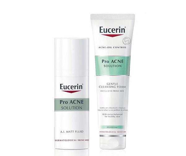 Kem trị mụn Eucerin ProAcne A.I Matt Fluid