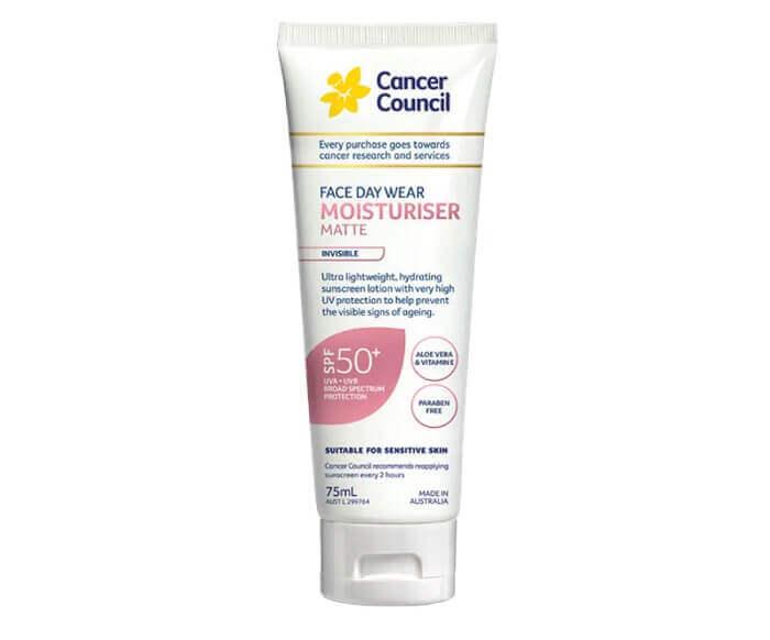 Kem chống nắng Cancer Council Face Day Moisturizer vừa giúp làn da chống nắng phổ rộng, vừa giúp mềm mịn làn da