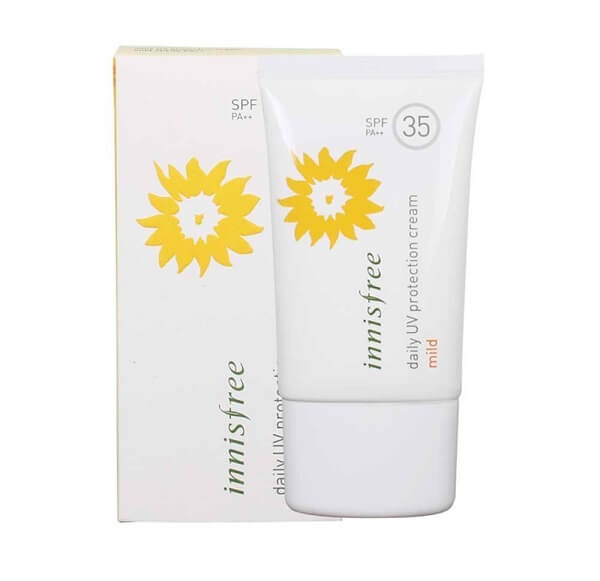 Sản phẩm chống nắng Innisfree Daily UV Protection Cream Mild