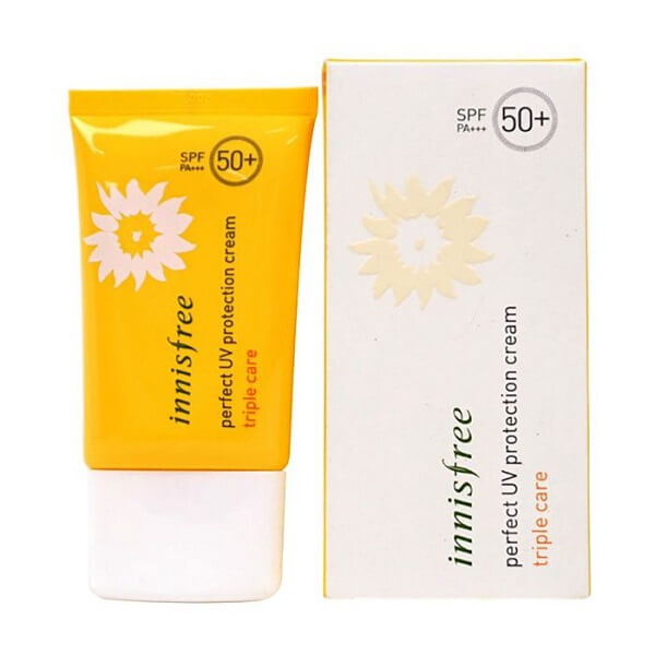 Sản phẩm chống nắng Innisfree Perfect UV Protection Cream Triple Care