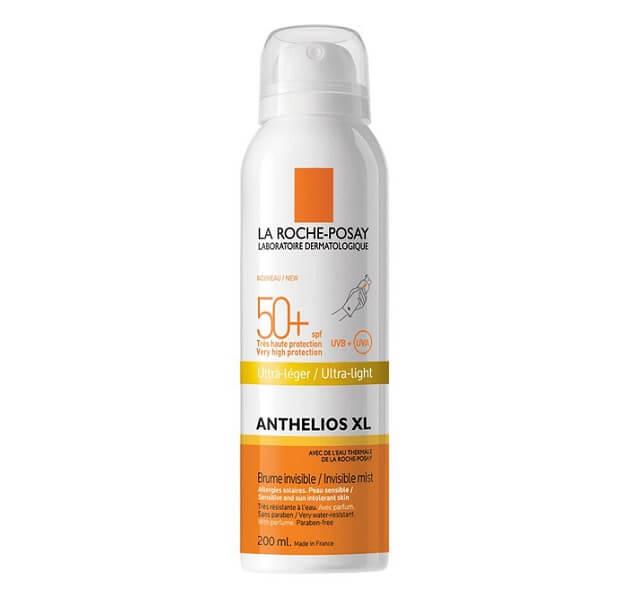 Xịt chống nắng toàn thân La Roche-Posay Anthelios XL Body Spray SPF 50+
