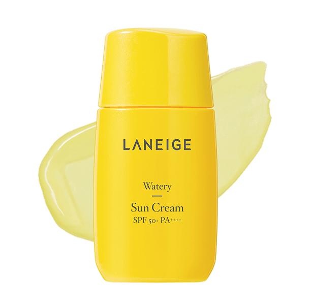 Kem chống nắng Laneige Watery Sun Cream có chỉ số chống nắng phù hợp cho làn da khô