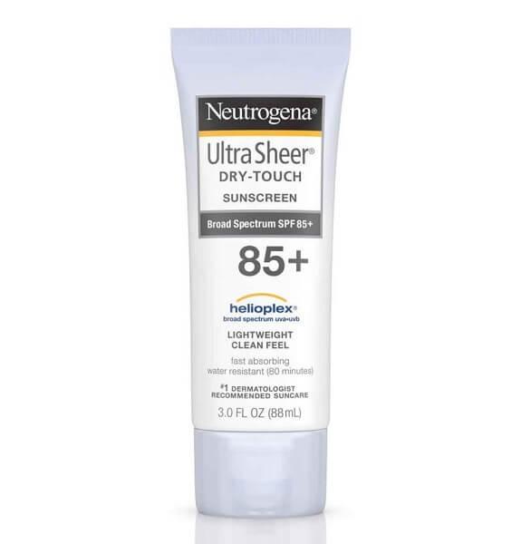 Kem chống nắng toàn thân Neutrogena Ultra Sheer Dry-Touch Sunscreen SPF 85+