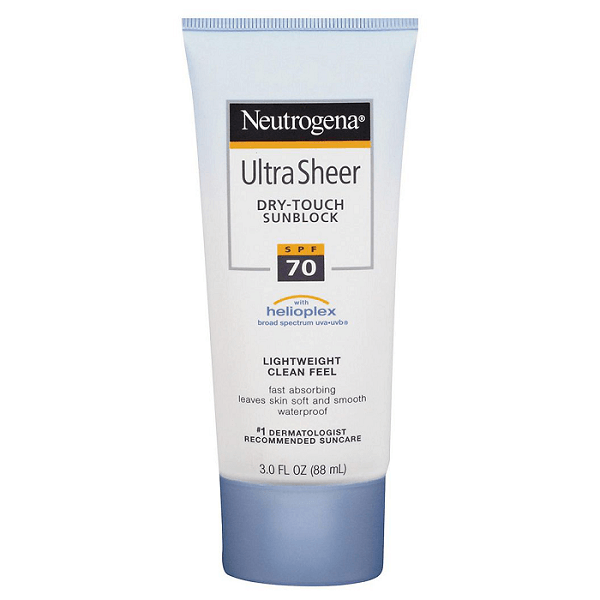 Sản phẩm chống nắng Neutrogena Ultra Sheer Dry-Touch
