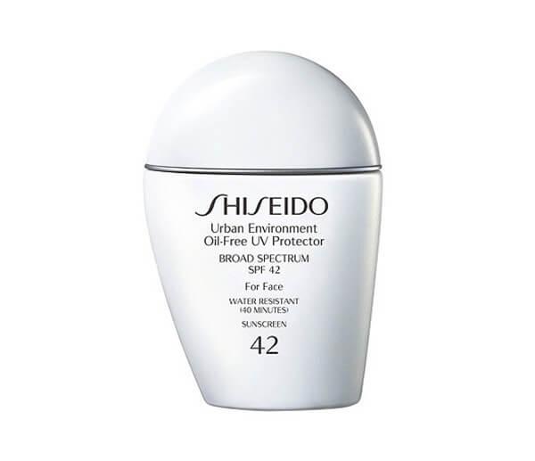 Kem Shiseido Oil-Free UV Protector SPF 42 Sunscreen