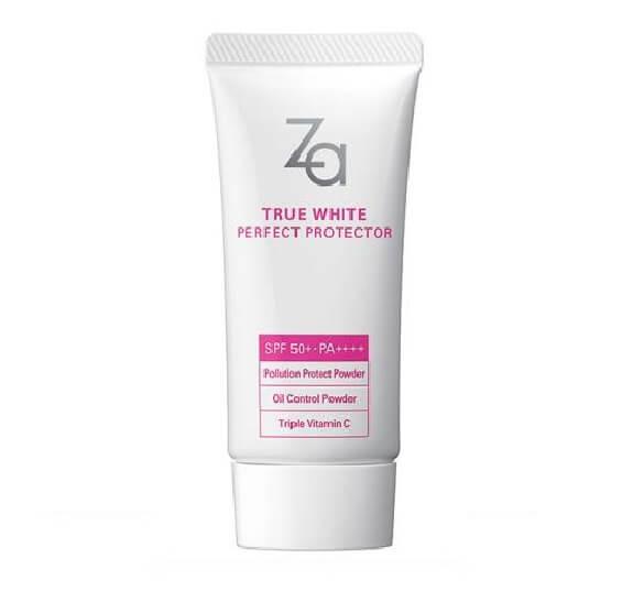 Kem chống nắng Body Spf 50+ Za True White Ex Power Block Uv 50 Ml