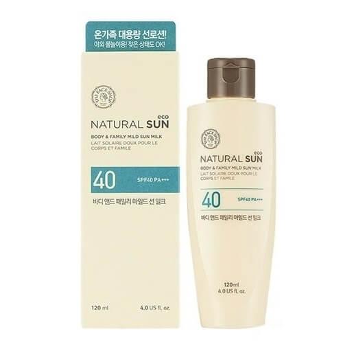 Kem chống nắng The Face Shop Natural Sun Body
