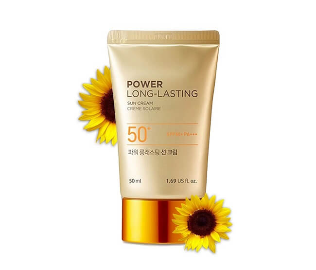 Sản phẩm The Face Shop Natural Sun Eco Power Long Lasting Sun Cream