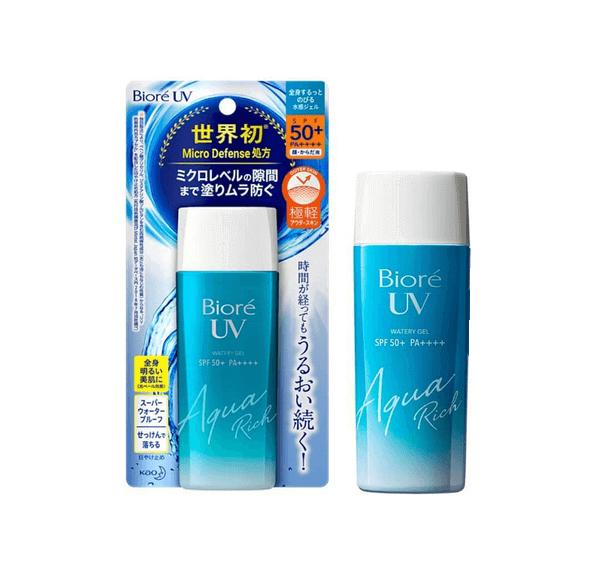 kem chống nắng Biore UV Aqua Rich Watery Gel 90ml SPF50+, PA++++