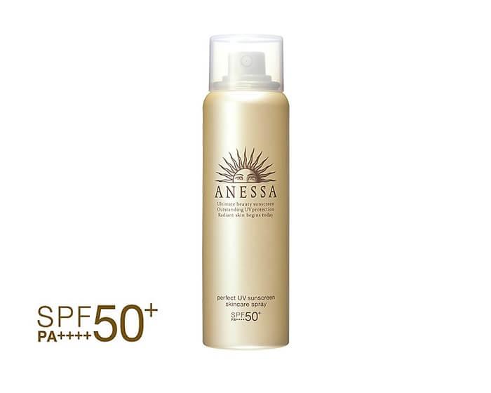 Kem chống nắng hóa học dạng xịt Anessa Perfect UV Spray Sunscreen