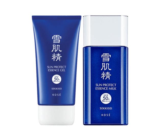 kem Kose Sekkisei Sun Protect Essence Gel SPF50+/ PA++++