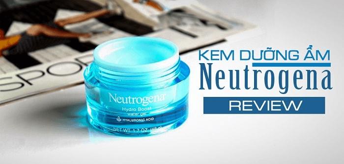 Kem dưỡng ẩm cho da dầu nhờn Neutrogena Hydro Boost Water