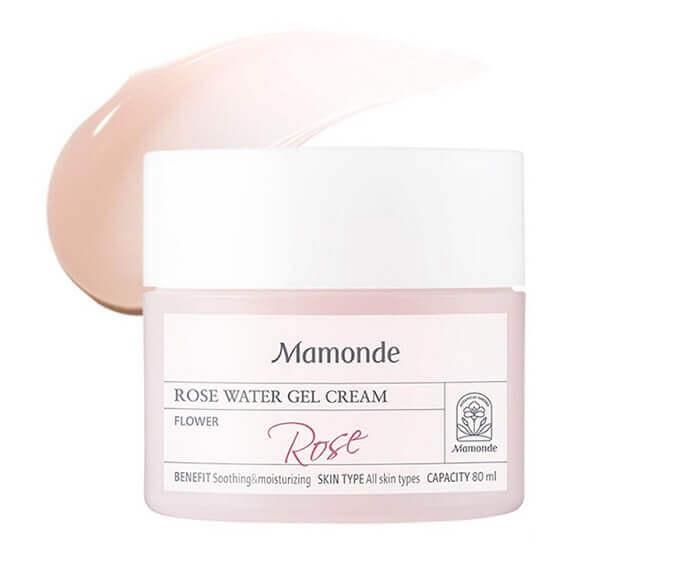 Kem dưỡng ẩm cho da hỗn hợp Mamonde Rose Water Gel