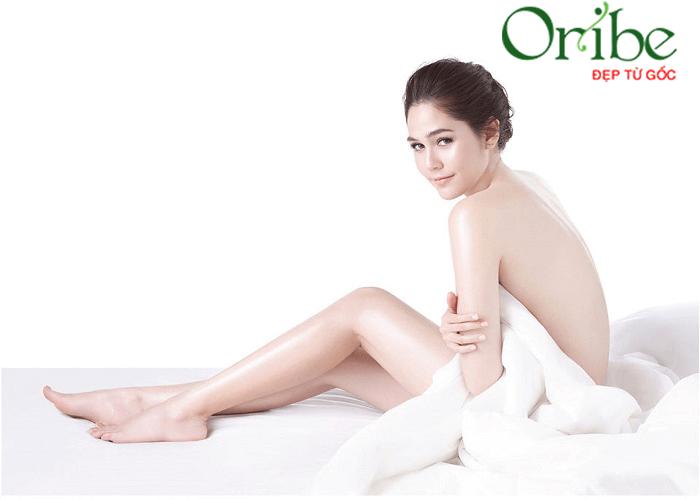 Kem dưỡng thể trắng da là sản phẩm không thể thiếu của phái đẹp