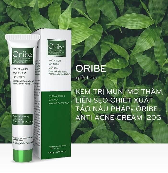Kem trị mụn Oribe giúp ngăn ngừa mụn, giảm thâm, liền sẹo hiệu quả