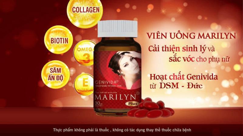 Viên uống Marilyn Plus giúp cải thiện sinh lý nữ tốt