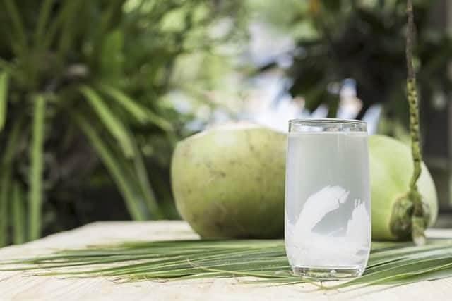 Nước dừa chứa nhiều chất dinh dưỡng có lợi cho sức khỏe