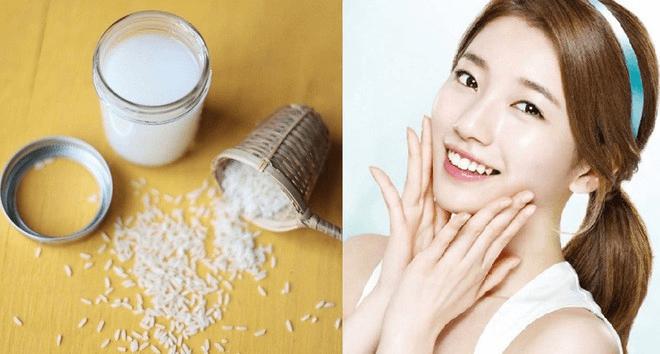 Nước vo gạo có nhiều dưỡng chất và giàu dinh dưỡng rất tốt cho da