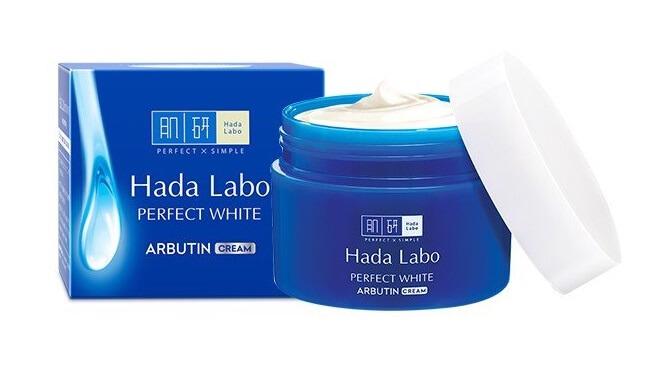 Sản phẩm dưỡng trắng da Hada Labo Perfect White Arbutin Cream