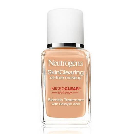 Kem nền Neutrogena SkinClearing Oil- Free Make