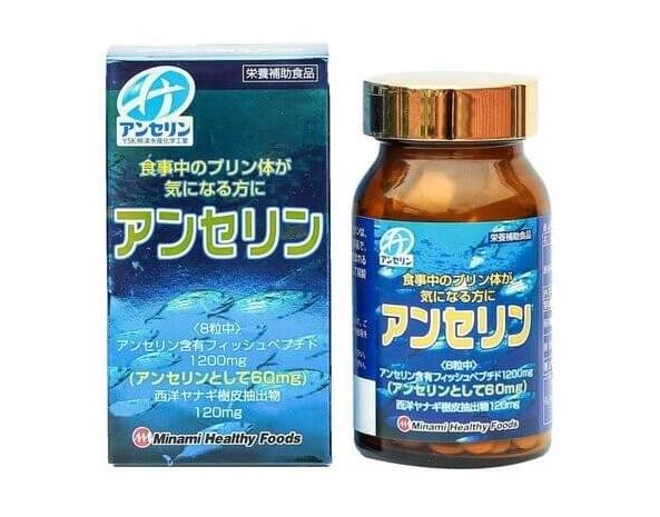 Sản phẩm chữa bệnh gout Anserine Minami