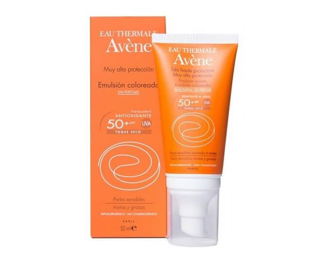 Kem chống nắng Avene Very High Protection Emulsion SPF50+ giúp làn da được chống nắng tốt