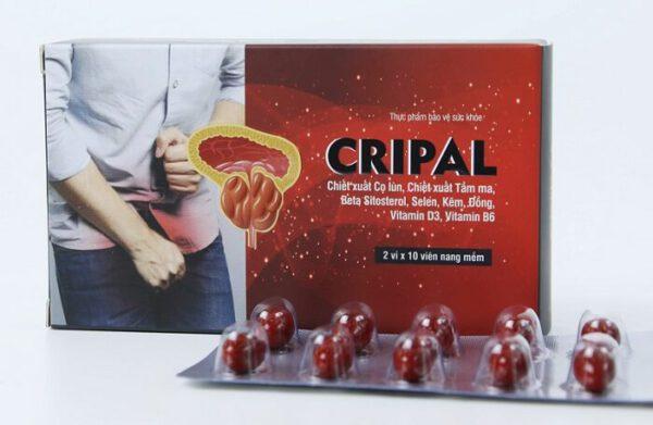 Sản phẩm Cripal - giải pháp cải thiện triệu chứng u xơ, phì đại lành tính tuyến tiền liệt
