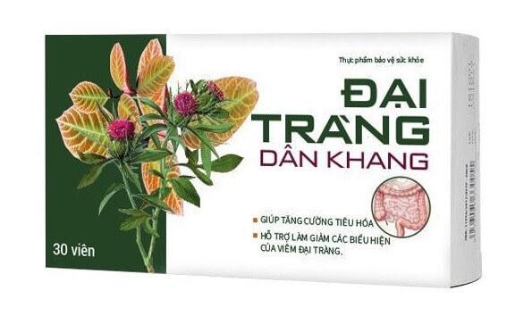 Sản phẩm Đại Tràng Dân Khang giúp tăng cường tiêu hóa và giảm các triệu chứng của bệnh viêm đại tràng