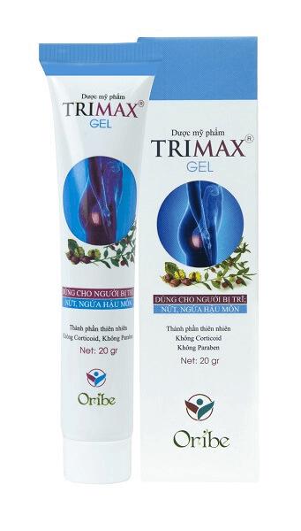 Sản phẩm gel Trimax
