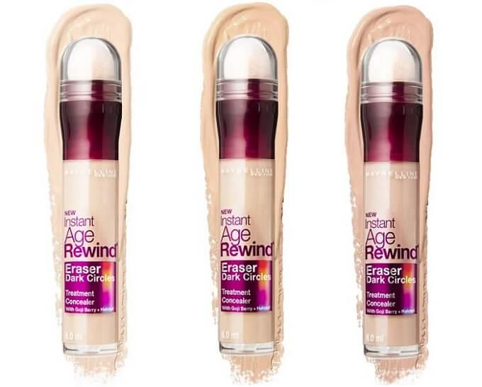 Kem che khuyết điểm vùng thâm mắt Maybelline Instant Age Rewind Eraser Multi-Use Concealer