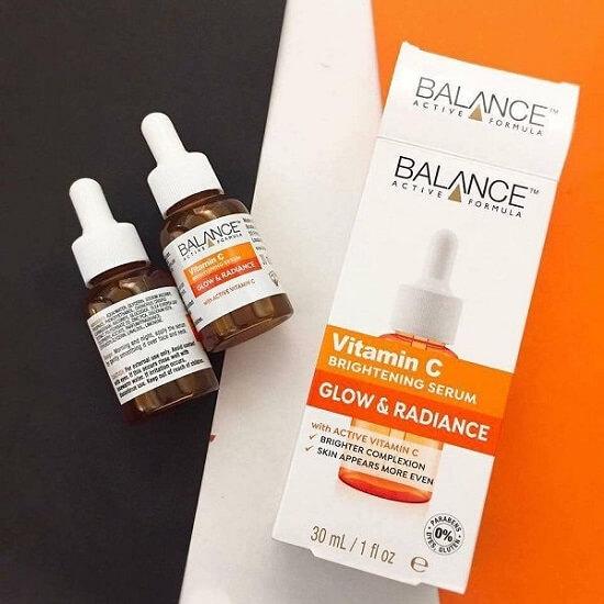 Sản phẩm Balance Active Formula Vitamin C Brightening Serum Glow & Radiance